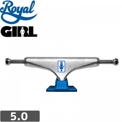 【ROYAL ロイヤル スケボー トラック】ROYAL x GIRL OG STANDARD TRUCKS【5.0】NO54