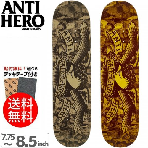 【ANTI HERO アンタイヒーロー デッキ】FAN CLUB PRICE POINT DECK[7.75インチ][8.06インチ][8.25インチ][8.5インチ]NO111