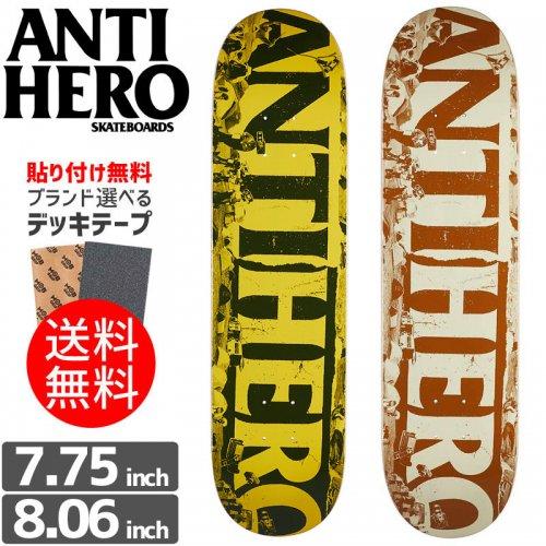 【ANTI HERO アンタイヒーロー デッキ】BUDGET CUTS DECK[7.75インチ][8.06インチ]NO112