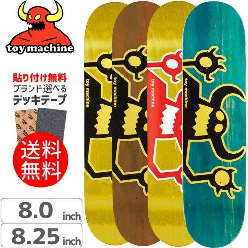 【トイマシーン TOY MACHINE スケートボード デッキ】OG MONSTER DECK[8.0インチ]NO162