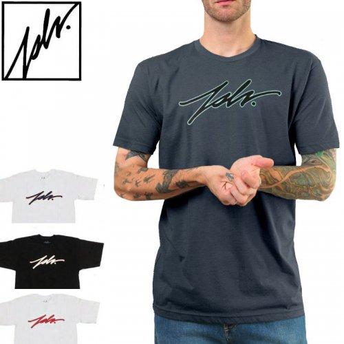【ジャスリブ JSLV スケボー Tシャツ】JSLV SIGNATURE STROKE TEE【2カラー】NO6