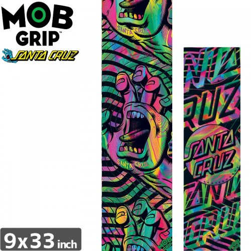 【モブグリップ MOB GRIP デッキテープ】SANTACRUZ ACID GRIP TAPE【9 x 33】NO173