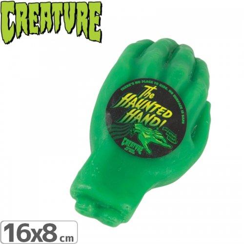 【クリーチャー CREATURE スケボー ワックス】HAUNTED HAND WAX【グリーン】NO02
