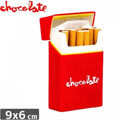 【チョコレート CHOCOLATE シガー ケース】CIG CASE【レッド】NO1