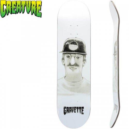 【クリーチャー CREATURE スケートボード デッキ】GRAVETTE KOTD[8.25インチ]NO150