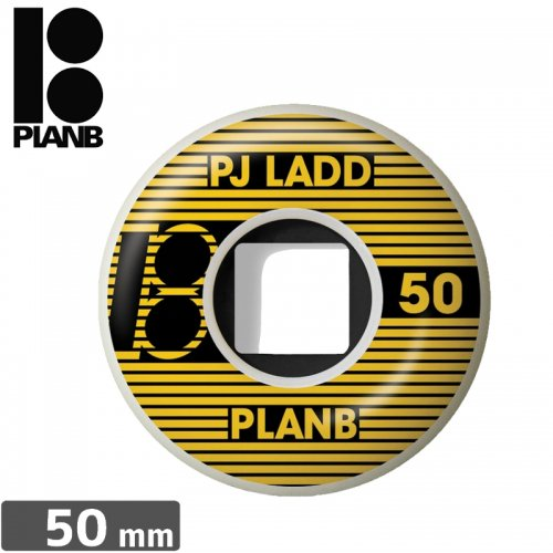 【PLAN-B プランビー ウィール】PJ LADD STRIPED WHEEL【50mm】NO21