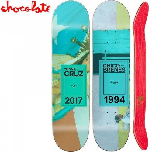 【チョコレート CHOCOLATE スケートボード デッキ】INAUGURAL YEAR DECK[8.375インチ]NO162