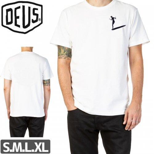 【DEUS EX MACHINA デウス スケボー Tシャツ】SURFER TEE【ホワイト】NO2