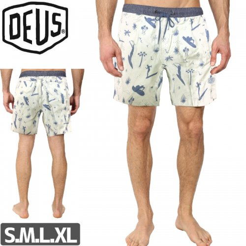 【DEUS EX MACHINA デウス ボードショーツ】SANDBAR SURFERS SHORTS NO1