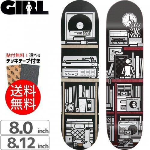 【ガール GIRL スケボーデッキ】SUB POP DECK[8.0インチ][8.12インチ]NO219