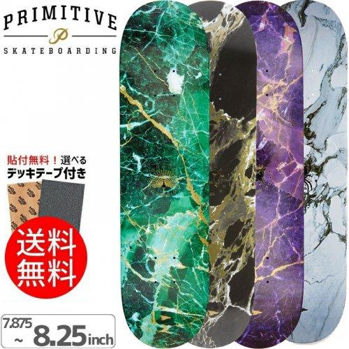 【PRIMITIVE プリミティブ スケボー デッキ】MARBLE DECK[7.875インチ][8.0インチ][8.125インチ][8.25インチ]NO43
