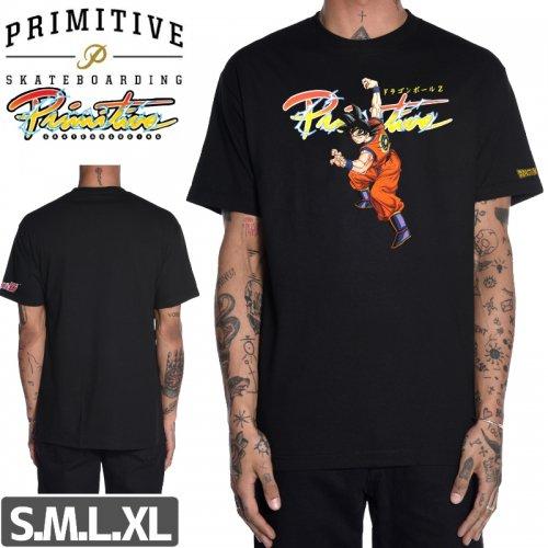 【PRIMITIVE プリミティブ Tシャツ】NUEVO GOKU TEE【ブラック】NO8