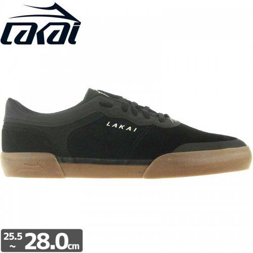 【LAKAI LIMITED FOOTWEAR ラカイ スケート シューズ】STAPLE【ブラック】NO75
