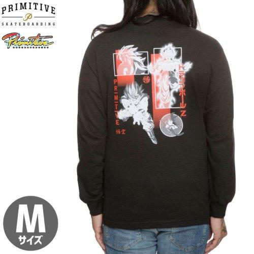【PRIMITIVE プリミティブ スケボー ロング Tシャツ】DBZ COLLAGE L/S TEE 【ブラック】 NO3