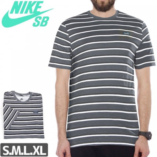 【NIKE SB ナイキ Tシャツ】JDI STRIPE TEE【ボーダー】NO50
