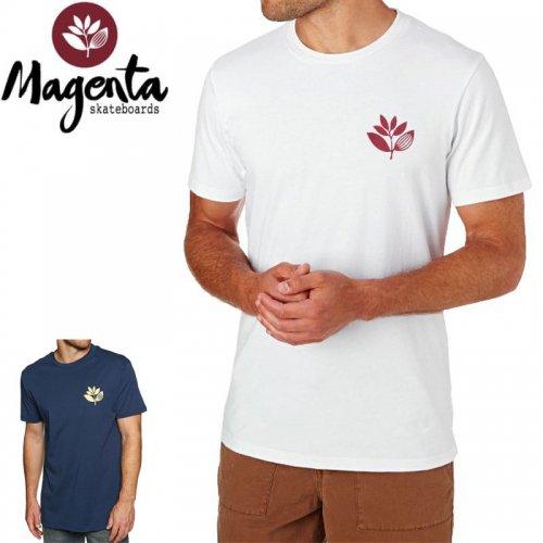 【MAGENTA マゼンタ Tシャツ】HEART PLANT TEE【ネイビー】【ホワイト】NO8
