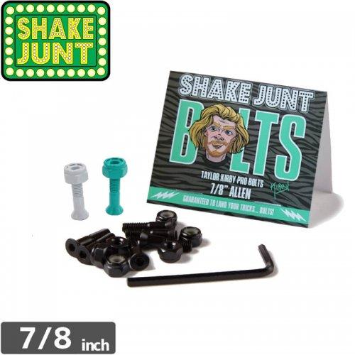 【シェイクジャント SHAKE JUNT ハードウェア】TAYLOR KIRBY PRO BOLTS【7/8インチ】【六角】NO10