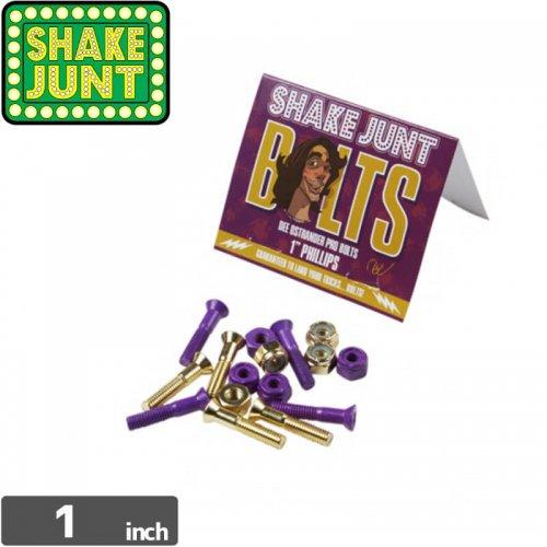 【シェイクジャント SHAKE JUNT ハードウェア】DEE OSTRANDER PRO BOLTS【1インチ】【プラス】NO11