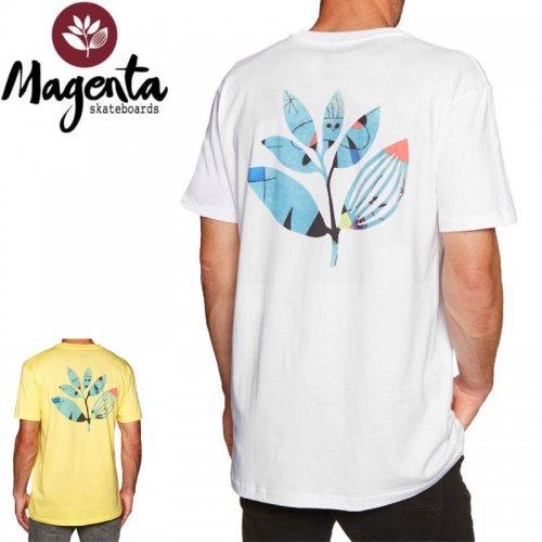 【MAGENTA マゼンタ Tシャツ】MIRO TEE【イエロー】【ホワイト】NO9