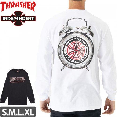 【インディペンデント スラッシャー ロングTシャツ】INDEPENDENT x THRASHER TTG LONG SLEEVE TEE NO5
