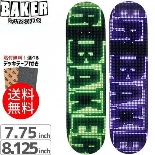 【ベーカー BAKER スケボー デッキ】BRAND NAME LED DECK[7.75インチ][8.125インチ]NO197