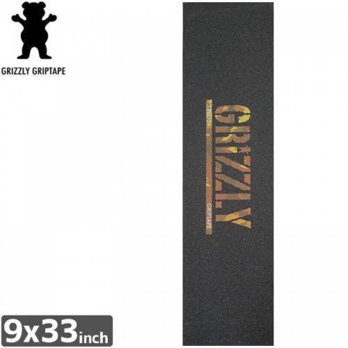 【グリズリー GRIZZLY GRIPTAPE デッキテープ】T-PUDS WILD STAMP GRIPTAPE【9x33】NO24