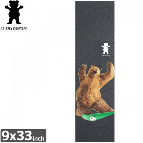 【グリズリー GRIZZLY GRIPTAPE デッキテープ】GRIZZLY x EBS GRIPTAPE【9x33】NO26