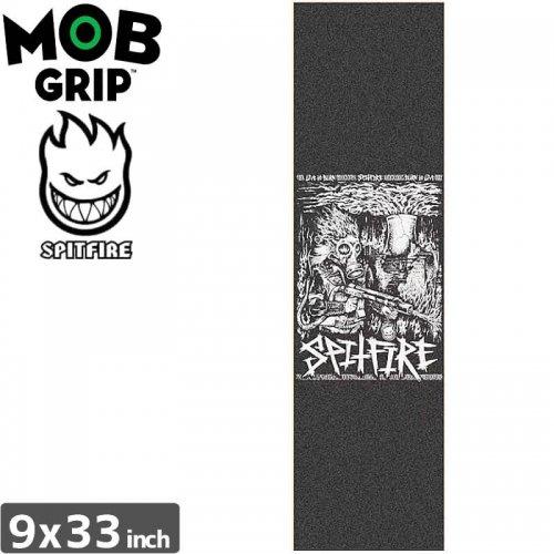 【モブグリップ MOB GRIP デッキテープ】SPITFIRE SPITCRUST GRIPTAPE【9 x 33】NO127