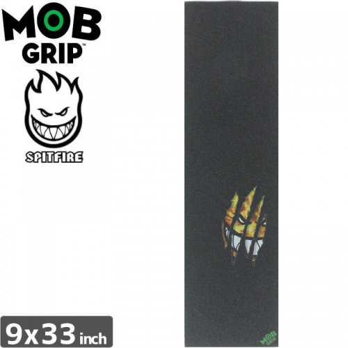 【モブグリップ MOB GRIP デッキテープ】SPITFIRE RIPPED FIRE GRIPTAPE【9 x 33】NO128