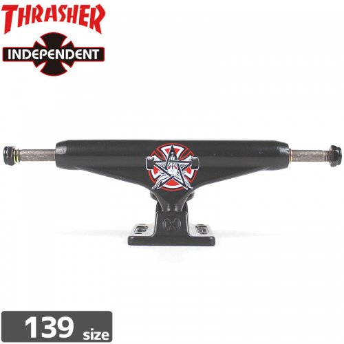 【インディペンデント スケボー トラック】INDEPENDENT x THRASHER PENTAGRAM STAGE11【139】【STANDARD】NO97
