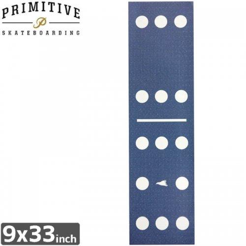 【PRIMITIVE プリミティブ スケボー デッキテープ】DOMINO PRINTED GRIPTAPE【9x33】NO5