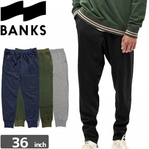 【BANKS JOURNAL バンクス  ボトム スウェット】ROLL TRUCKSUIT PANTS【4カラー】NO1