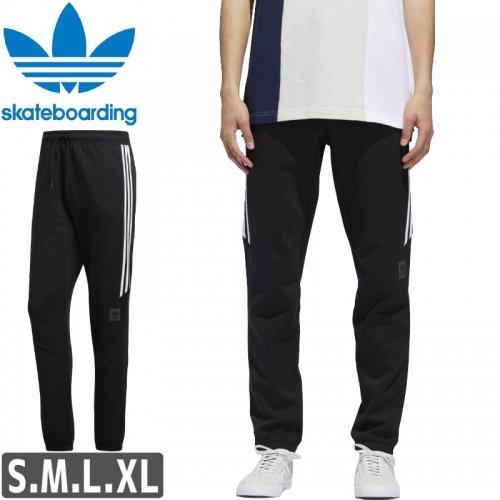 【アディダス ADIDAS SKATEBOARDING パンツ】TECH SWEAT PANTS【ブラック】NO11