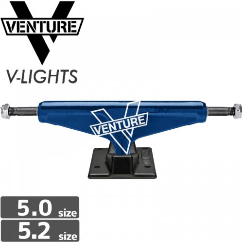 【VENTURE ベンチャー スケボー トラック】MARITIME MARQUEE V-LIGHT【5.0】NO99