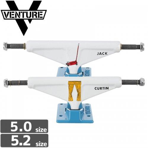 【VENTURE ベンチャー スケボー トラック】CURTIN PICTO V-LIGHT【5.0】NO101