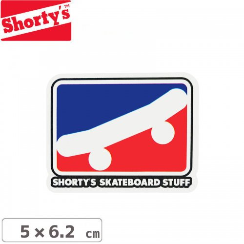 【ショーティーズ SHORTYS ステッカー】SKATE ICON STICKER【5cm x 6.2cm】NO19
