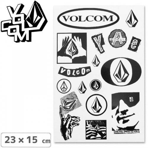 【ボルコム VOLCOM ステッカー】STICKER SHEET【23cm x 15cm】NO327