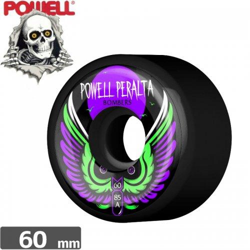 【パウエル POWELL スケボー ウィール】BOMBERS 3 WHEEL【60mm】【ブラック】NO21