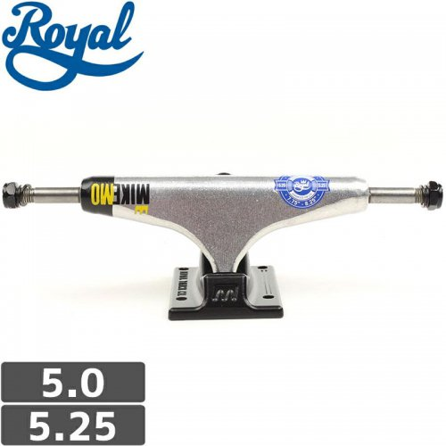 【ROYAL ロイヤル スケボー トラック】RACE CROWN MIKE MO PRO TRUCKS【5.0】【5.25】NO56