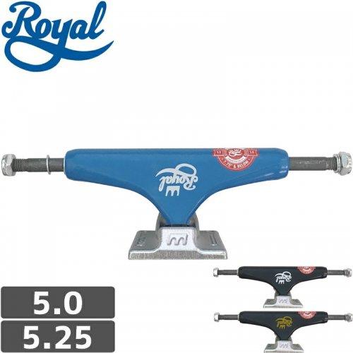 【ROYAL ロイヤル スケボー トラック】CLASSIC CROWN LOW TRUCKS【5.0】【5.25】NO57