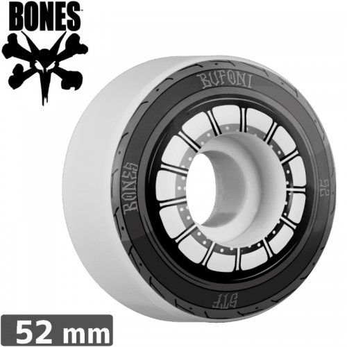 【ボーンズ BONES スケボーウィール】BUFONI HARLEY WHEEL STF【V1】【52mm】NO158