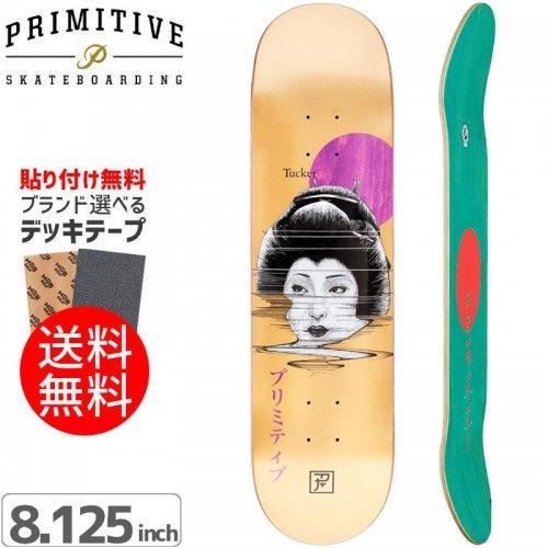 【PRIMITIVE プリミティブ スケボー デッキ】GEISHA DECK[8.1インチ]NO50
