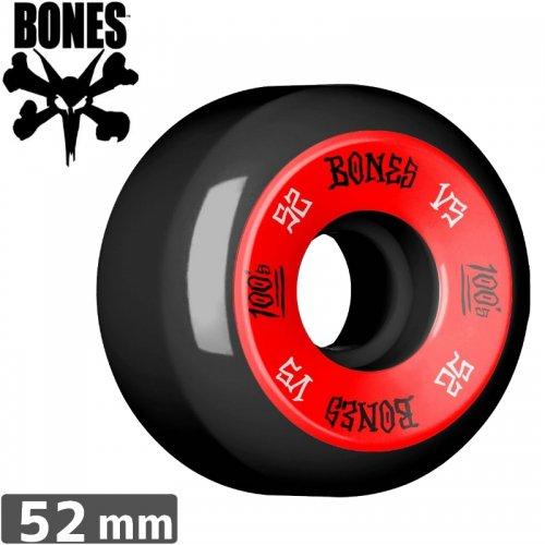 【ボーンズ BONES スケボーウィール】100's OG FORMULA【V5】【52mm】NO160