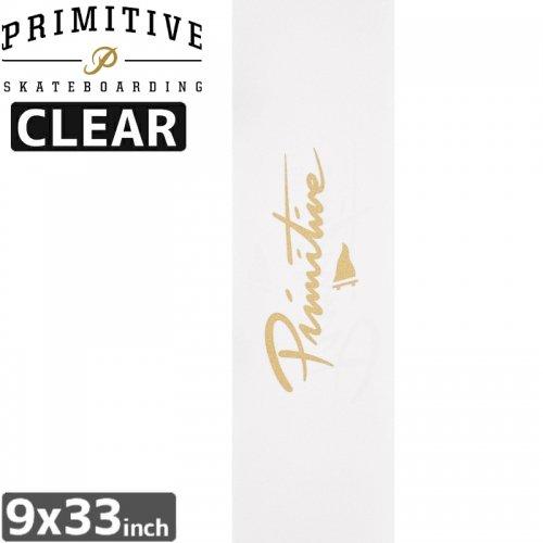 【PRIMITIVE プリミティブ スケボー デッキテープ】NUEVO PENNANT GRIPTAPE CLEAR【9x33】NO6