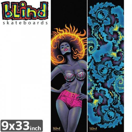 【BLIND ブラインド スケボー デッキテープ】BLACKLIGHT GRIPTAPE 【9x33】NO4