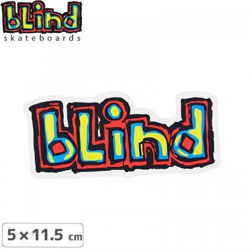 【ブラインド BLIND スケボー ステッカー】CLASSIC OG【5cm x 11.5cm】NO53