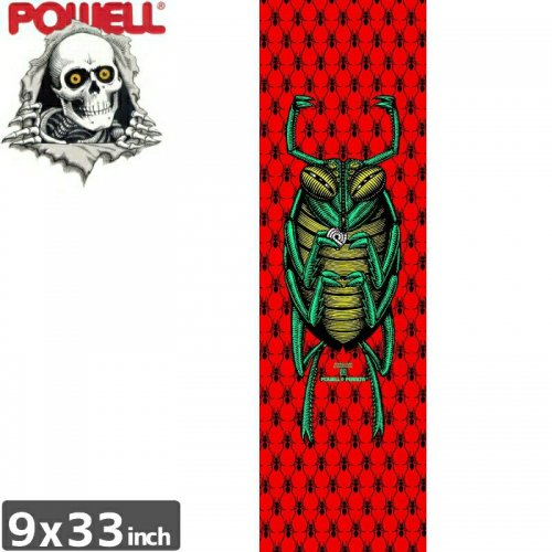 【パウエル POWELL GRIPTAPE デッキテープ】BUG GRIP TAPE SHEET【9x33】NO3