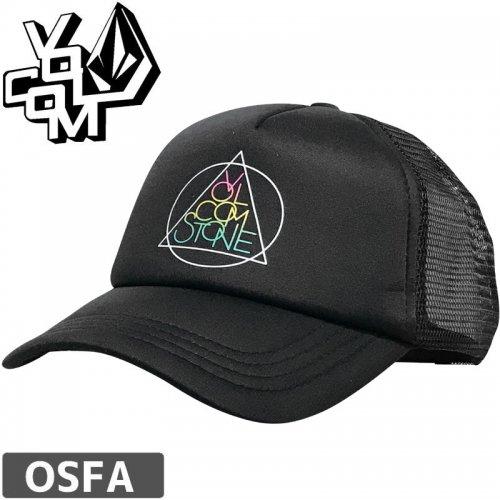 【ボルコム VOLCOM レディース キャップ】STONETERNALLY HAT【ブラック】NO67