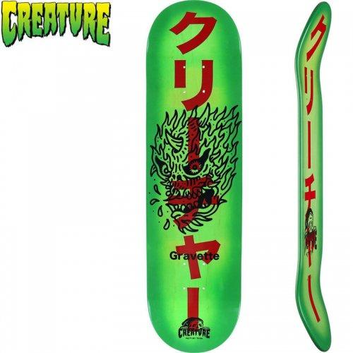 【クリーチャー CREATURE スケートボード デッキ】SKETCHY DEMONS PRO DECK[8.2インチ]NO153