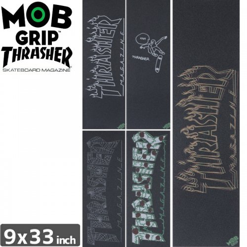 【モブグリップ MOB GRIP デッキテープ】THRASHER AUTUMN 18 GRAPHIC GRIP【9x33】NO172